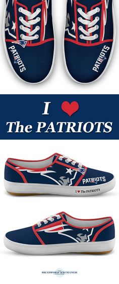 Put some team pride swagger in your step with our NFL New England Patriots  women s shoes 9c1cb7e942f