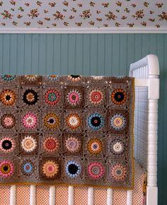 Sunshine Day Afghan Crochet Pattern