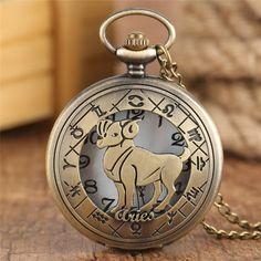 Constellations, Pocket Watch Necklace, Necklace Chain, Pendant Necklace, Quartz Pocket Watch, Birthday Fashion, Sagittarius, Fashion Watches, Watches For Men