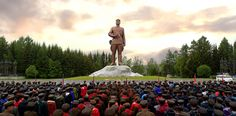 위대한 김정일대원수님께서 백두산지구 혁명전적지답사길을 개척하신 60돐을 맞으며 전국청소년학생들의 백두산지구 혁명전적지답사행군 진행-《조선의 오늘》
