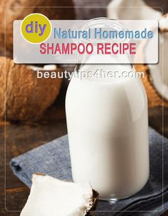 Natural Homemade Shampoo Recipe | Beauty and MakeUp Tips