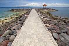 Candidasa, Bali by Nolan Caldwell, via Flickr..we stayed near here last year
