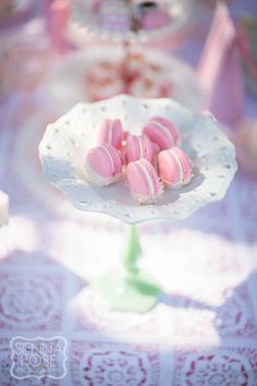 Minted and Vintage Tea Party | French Macarons by Le Pop Shop