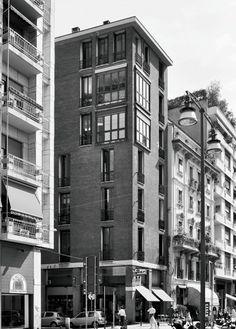Edificio per abitazioni, Angelo Mangiarotti e Bruno Morassutti, 1959-1960, via Quadronno 24, Milano - Google Search