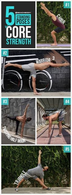 Try these 5 easy yoga inspired core workouts at home to get your abs in tip-top shape! easy core workouts // yoga // core workouts at home // best ab workouts // fitness tips // Beachbody // Beachbody Blog