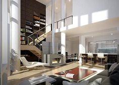 Duplex Loft/ salón a doble altura