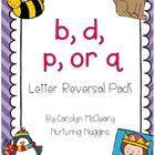 """This pack will help with common letter reversals.  I made two sets of each game/activity: one using the phonogram """"qu"""" and the other using the lett..."""