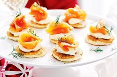 Smoked Salmon And Dill Pikelets | 21 Mouthwatering Recipes You Should Make This Christmas