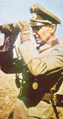Generalfeldmarschall Walter Model color binoculars.