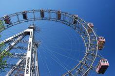 Language School, Summary, Vienna, Ferris Wheel, Fair Grounds, Places, Travel, Viajes, Abstract