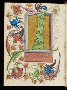 Cologny, Фонд Мартина Бодмера, треска Бодмер 19, с.  1v - псевдо-Бернарда из Клерво