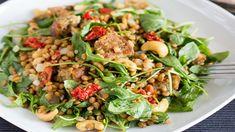 Rukolovo šošovicový šalát Kung Pao Chicken, Ethnic Recipes, Food, Essen, Meals, Yemek, Eten
