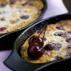 Cherry clafoutis with Almond flour