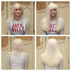 White Blonde Hair Extensions Uk 86