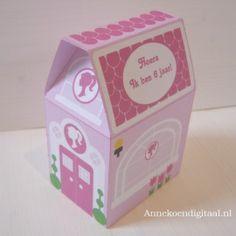 Barbie traktatie huisje
