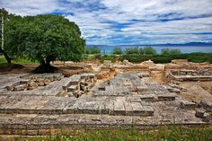 Halkidiki, #Macedonia Greece - The sanctuary of Ammon Zeus in Kallithea survives alongside the secular coast and famous clubs