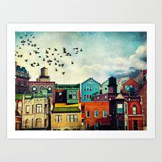 A Grand Avenue art print by Tim Jarosz, $22.88. https://society6.com/product/a-grand-avenue_print?curator=bestreeartdesigns