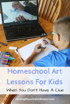 homeschool | homeschooling | art lessons | art cou…