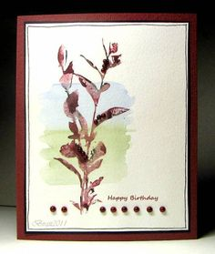 CC306 Happy Birthday by Biggan - Cards and Paper Crafts at Splitcoaststampers