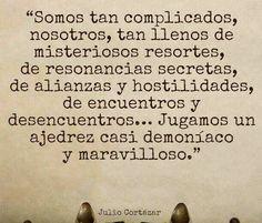 〽️ Julio Cortázar...