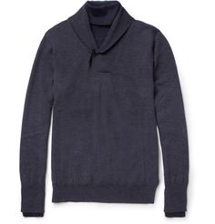 Maison Martin Margiela; Layer-Effect Wool Sweater