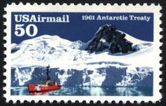 US Air Mail Postage Stamps | Airmail Stamp Commemorates the 30th Anniversary of the Antarctic ...