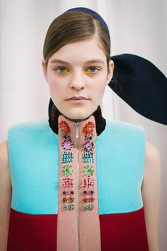 An inside look at Delpozo's Fall 2015 show: