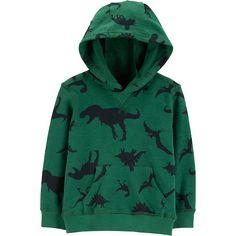 Dinosaurs Park Big Boys Creeper Premium Zip-up Hoodie