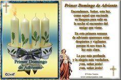 Blog para una Navidad Feliz: Estampas Oraciones Adviento