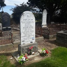 Burt Munro is interred with his parents and brother at Invercargill's Eastern Cemetery. This cemetery is also Invercargill's oldest cemetery.   #ontheroadkiwis #ontheroadnz #newzealand #travelnewzealand #nz #newzealandtravel #nzdestinations #travelnow #travelpicsdaily #digitalnomad #travelpics #destinationnz #kiwi_photos #nzmustdo #purenz #capturenz #newzealandfinds #gottalovenz #iconicnewzealand #realmiddleearth #outdoortherapy #invercargill #southisland