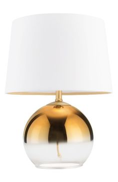Free shipping and returns on cupcakes and cashmere Glass Golden Ombré Table Lamp at Nordstrom.com. An exquisite glass sphere colored in golden ombré forms the base of a modern table lamp topped with a snowy linen shade.