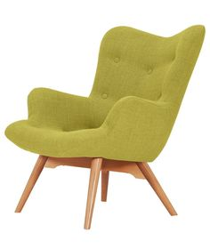 Buy Hygena Angel Fabric Chair - Yellow at Argos.co.uk - Your Online Shop for Armchairs and chairs.