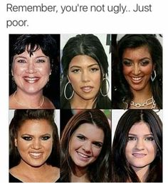 Not ugly just poor