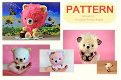 diy teddy bears - pattern