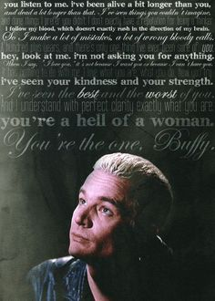 ... romantic has ever been said in the history of everything. #Buffy #BTVS