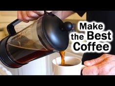 French Press Coffee without a PhD - YouTube