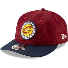 0a7f239f0c5 Men s Cleveland Cavaliers New Era Wine 2018 Tip-Off Series Retro 9FIFTY  Adjustable Hat
