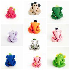 Clay Ganesha, Ganesha Art, Jai Ganesh, Ganesh Idol, Clay Art For Kids, Crafts For Kids, Arts And Crafts, Diy Clay, Clay Crafts