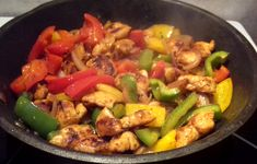 Recipe Images, Fajitas, Kung Pao Chicken, Tasty Dishes, Poultry, Hamburger, Food And Drink, Healthy Eating, Ethnic Recipes