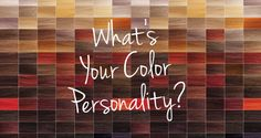Aloxxi - What's Your Color Personality?