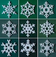 Snowflake fuse bead