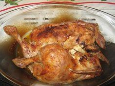 - a je hotovo, krásně zlatavé kuřátko a kůrčička jak z grilu!!!