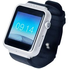 Karacus Zeta Smart Watch Phone With Android Kitkat OS And Simcard Slot (Silver)  High performance with elegance, this watch does it all. Stunning looks with great metal surface finish, it attract the attention of the onlooker and blows them away with its functionality. Top grade product material built with features as powerful as a standard mobile phone. This is the watch of the future. Truly where fashion meets technology! [SPECIFICATION]   Display (Screen)- 1.54″ IPS screen, 3D cam..