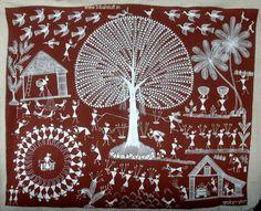 Warli Tribal Art Form (India)