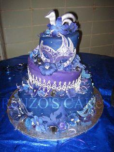 Sweet 16 Masquerade Cake by shatteredgrasp, via Flickr