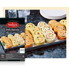 Deli Spirals - 60 ct. (Costco) - Nancy's - Easy Appetizers, Easy Entrees and Easy Dessert