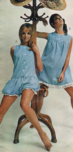 Penneys catalog 60s. Cay Sanderson and Colleen Corby.