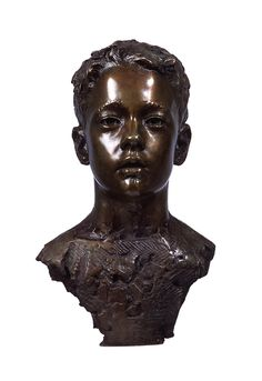 'Tom'. Life-size. Bronze. by Mark Richards FRBS