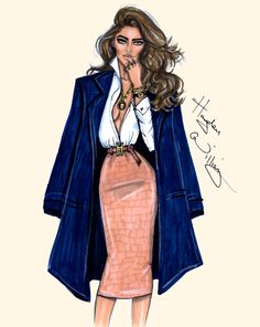 Hayden Williams Fashion Illustrations: 'True Classic' by Hayden Williams