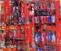 Abstract oil painting - RM 805 - 16 (Painting),  120x100x1.8 cm by Rico Mocellin Die Ölgemälde haben eine abstrakte Stil, viele Farben werden verwendet, um das Ergebnis sind bunte Kunstwerke mit unterschiedlichen Texturen.  Rico Mocellin's Kunstwerke sind das Ergebnis seiner Verrücktheit, in Farben umgewandelt.
